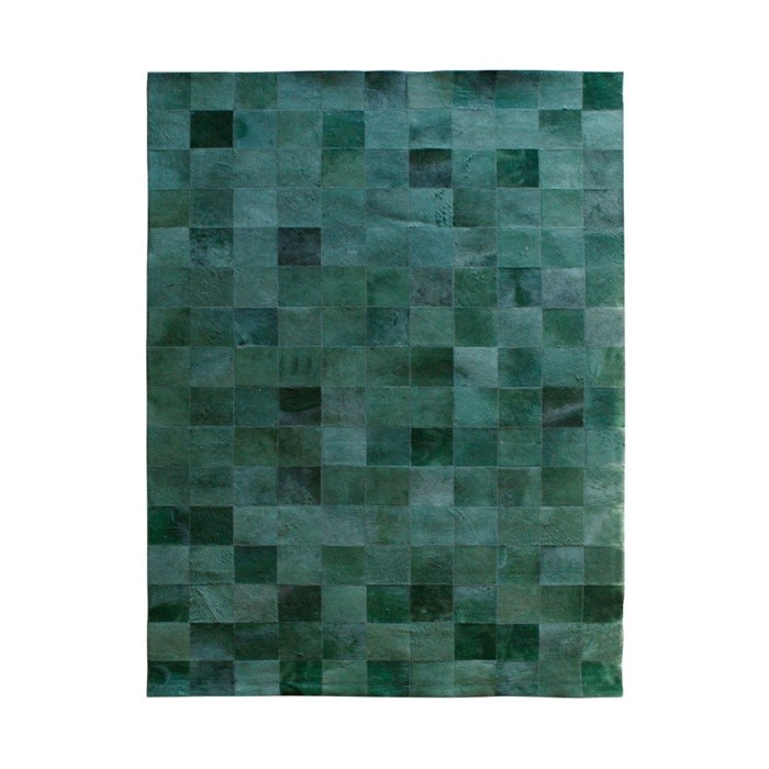 By-Boo_Carpet_Patchwork_Leather_green_6240_WoonenSlaap