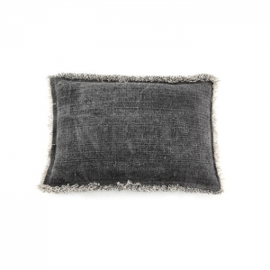 By-Boo_Pillow_Mono_40x60_cm_anthracite_3068_Woonenslaap