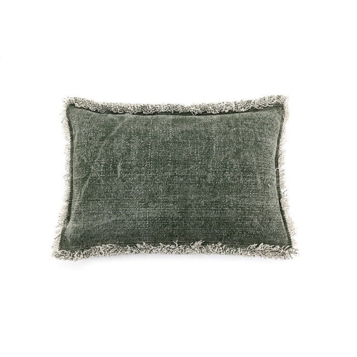 By-Boo_Pillow_Mono_40x60_cm_green_3069_Woonenslaap