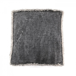 By-Boo_Pillow_Mono_60x60_cm_3078_anthracite_Woonenslaap