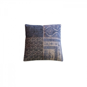 By-Boo_Pillow_Patchwork_50x50_cm_dark_blue_6095_Woonenslaap