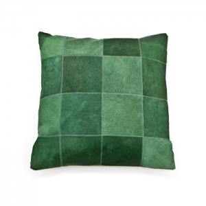 By-Boo_Pillow_Patchwork_Leather_45x45_cm_green_3095_Woonenslaap