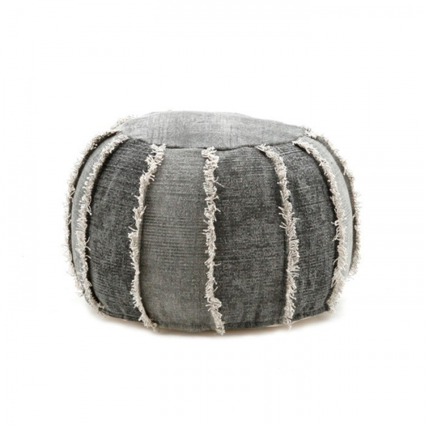 By-Boo_Pouf_Mono_50x50x35_cm_Anthracite_0223_WoonenSlaap